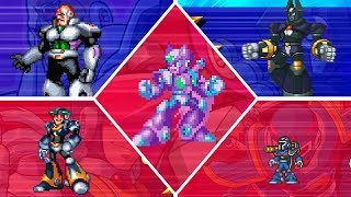 Mega Man X Legacy Collection 2 X Challenge Vol  2 - All Bosses