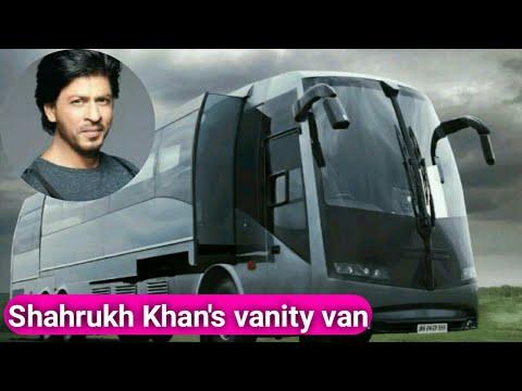 vanity van of Shahrukh Khan, must watch luxury vanity van