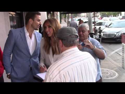 Giuliana Rancic and Bill Rancic at Craig's Restaurant