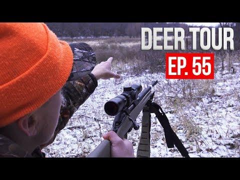 PUBLIC LAND GUN HUNT, MORE Big Bucks! - DEER TOUR E55