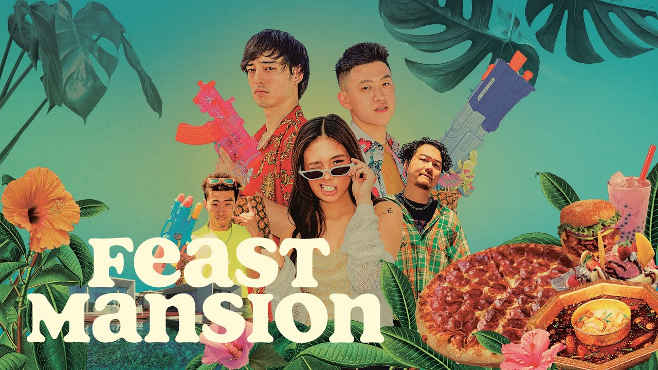Joji and Rich Brian Are Bringing Their Friends to Feast Mansion (Trailer) |  Feast Mansion