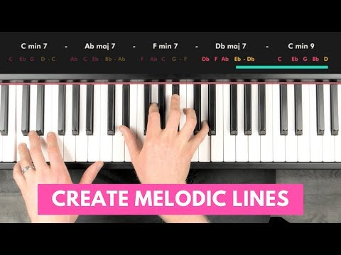 ✋ STOP SOUNDING BLAND (continued) | CREATE MELODIC LINES ABOVE YOUR CHORDS