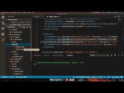 Sharing MSBuild Tasks as NuGet Packages with Nate McMaster