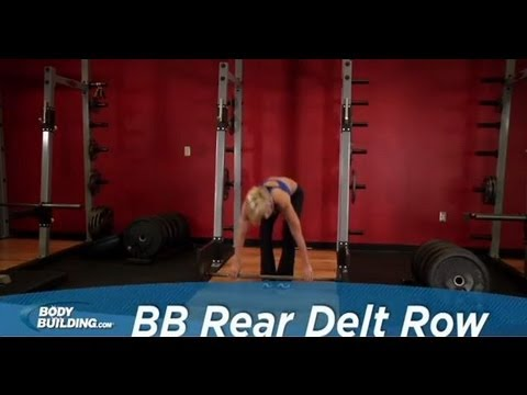 Barbell Rear Delt Row - Shoulder Exercise - Bodybuilding.com