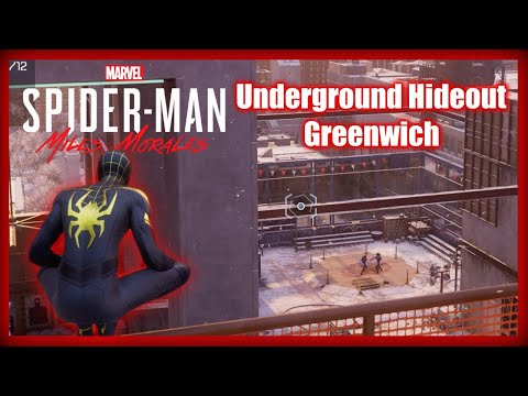 Marvel's Spider-Man: Miles Morales - Underground Hideout - Greenwich - Bonus Objectives Enemy Base