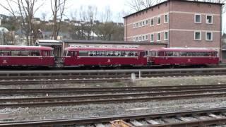 Schienenbus in Gerolstein