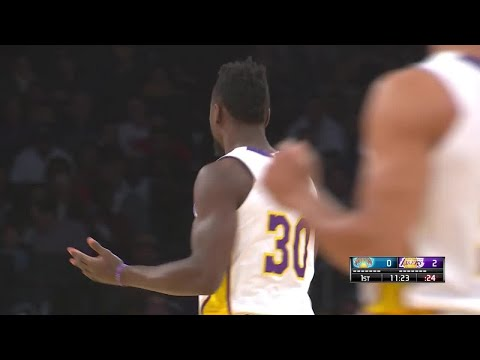 1st Quarter, One Box Video: Los Angeles Lakers vs. New York Knicks
