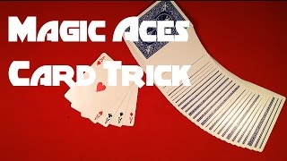Magic Aces Card Trick REVEALED!
