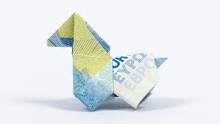 Geld falten Pferd - Geldgeschenk zur Hochzeit basteln 🐴