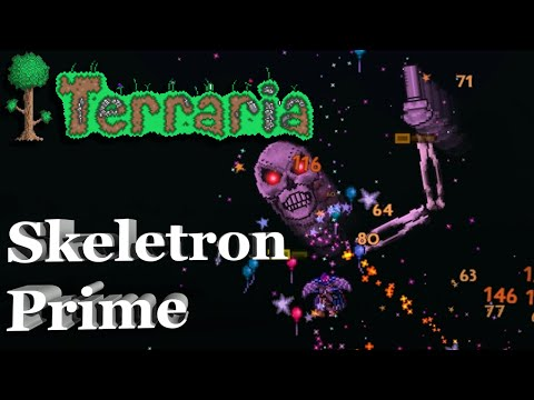 How to Defeat Skeletron Prime - Terraria Helping Hand