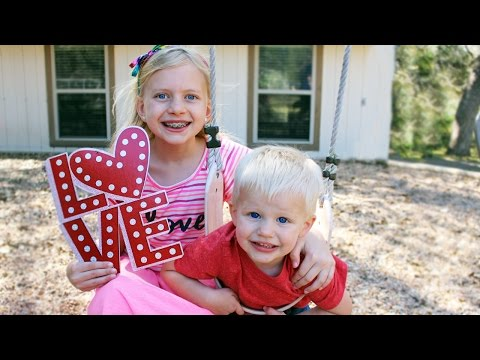 24 Hours With 5 Kids on Valentines Day