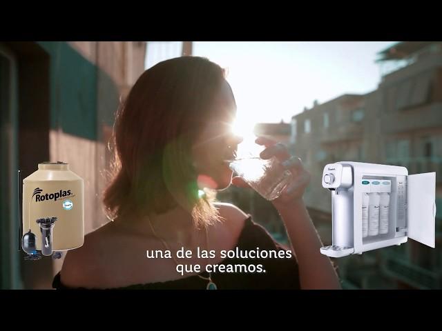 Innovación para que cuentes con cada gota | Rotoplas