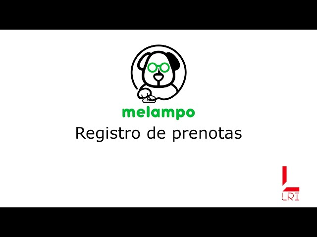 Registro de prenotas - Melampo