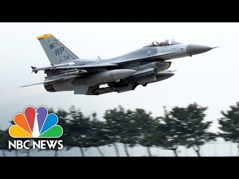 U.S., South Korean Warplanes Prepare For Action At 'Max Thunder' Drill | NBC News