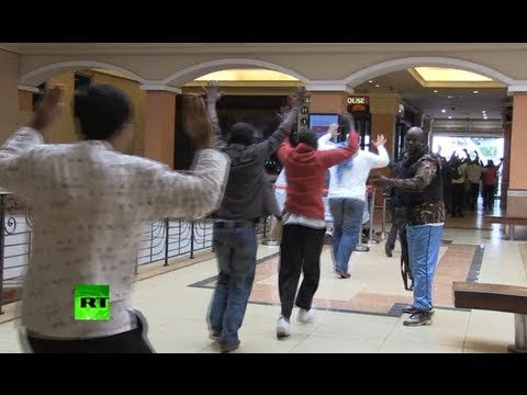 Dramatic video: Kenya mall massacre forces mass evacuation