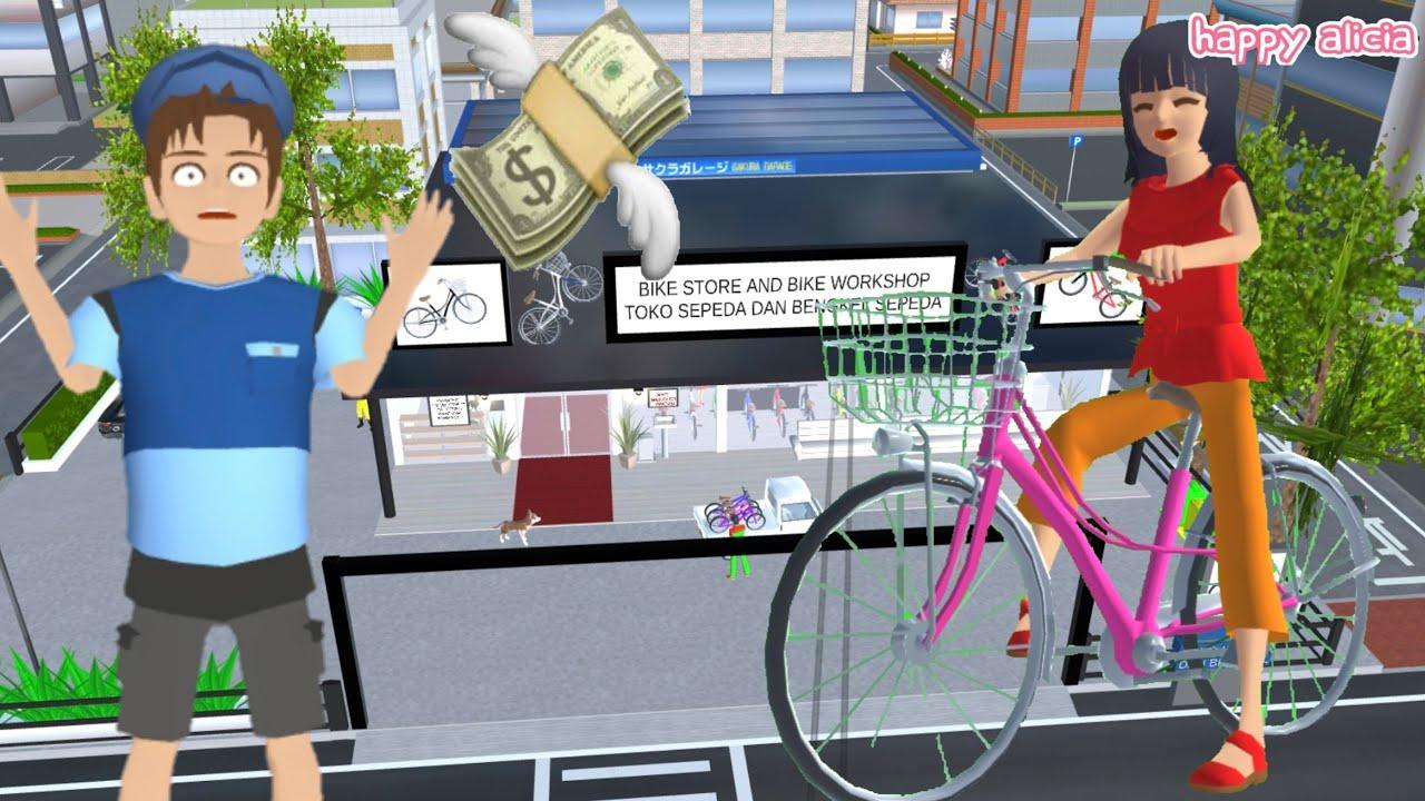 Download Yuta Mio Beli Sepeda Baru Dimarahin Cat Butler🤣😭🚲  Sakura School Simulator   Happy Alicia