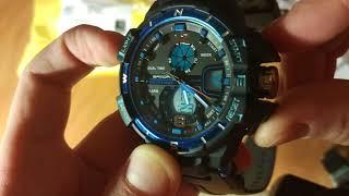 Часы Санда 289 Аналог дорогих G-Shock + настройка часов.
