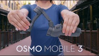 DJI Osmo Mobile 3 Basic Lightweight and Portable 3-Axis Handheld Gimbal Stabilizer Compatible with iPhone and Android Phones