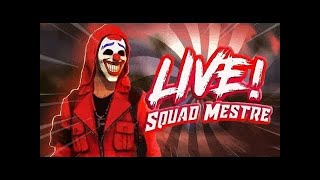 🔥 FREE FIRE AO VIVO 🔥 SQUAD RUMO AO MESTRE🔥 DOLAR NOW 🔥 LIVE ON