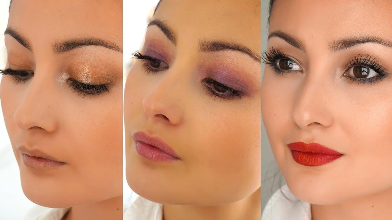 3e189c501cd 3 Easy Colourful Eyeshadow Looks - PEONY LIM - YouTube