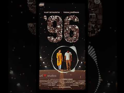 96 Love Whatsapp Status Vijay Sethupathy  Thrisha 90's Kids