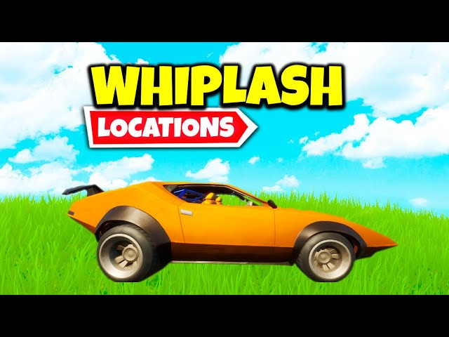 Whiplash Car Locations Know Where To Find These Cars In Fortnite