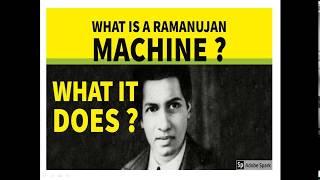 RAMANUJAN MACHINE FOR UPSC/SSC/BANL/LIC/RAILWAYS ON 20 JULY 2019
