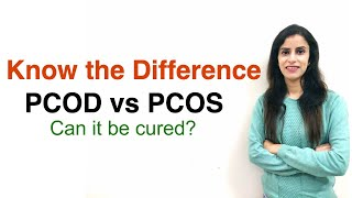 In this video, i will explain the difference between pcos and pcod, symptoms, treatments more. polycystic ovary syndrome / disease are used interchangeab...