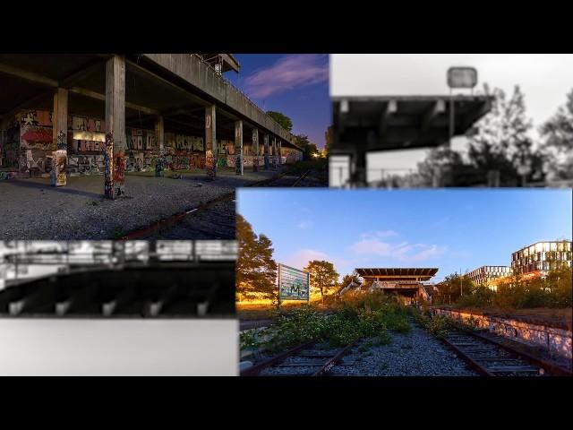 Zeitraffer vom Geisterbahnhof München