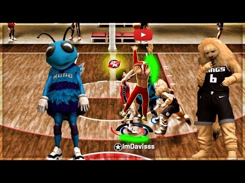 CAN 2 MASCOTS AND A PRO 2K LEAGUE PLAYER SHUTDOWN THE #1 PLAYSHOOTER? my playsharp wont miss still