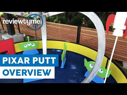 Mini-Golf With Your Pixar Pals! - Pixar Putt Overview