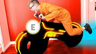 JAILBREAK VOLT BIKE IN REAL LIFE!! *ROBLOX IRL*