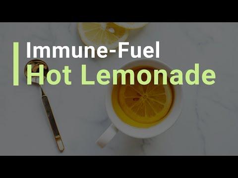 My Essential Anti-Sickness Drink – Immune-Fuel Hot LemonAid