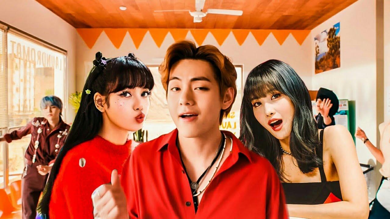 BTS X TWICE X TXT X BLACKPINK X (G)I-DLE - PERMISSION TO DANCE (5 SONGS MASHUP)