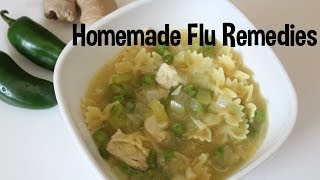 Homemade Flu Remedies - Jalepeno Chicken Soup, Pedialyte! Thumbnail