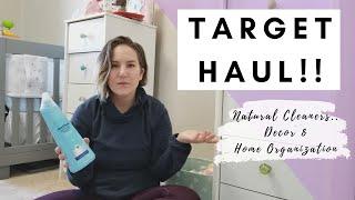 TARGET HAUL | Method Cleaning Supplies | Easter Bullseye Decor | Home Organization