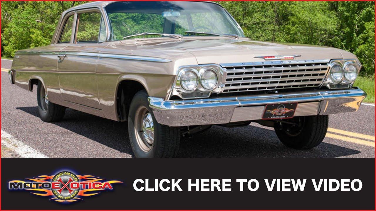 1962 Chevrolet Bel Air 2 Door Sedan Sold Youtube