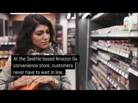 The supermarket of the future is self-driving and run by AI