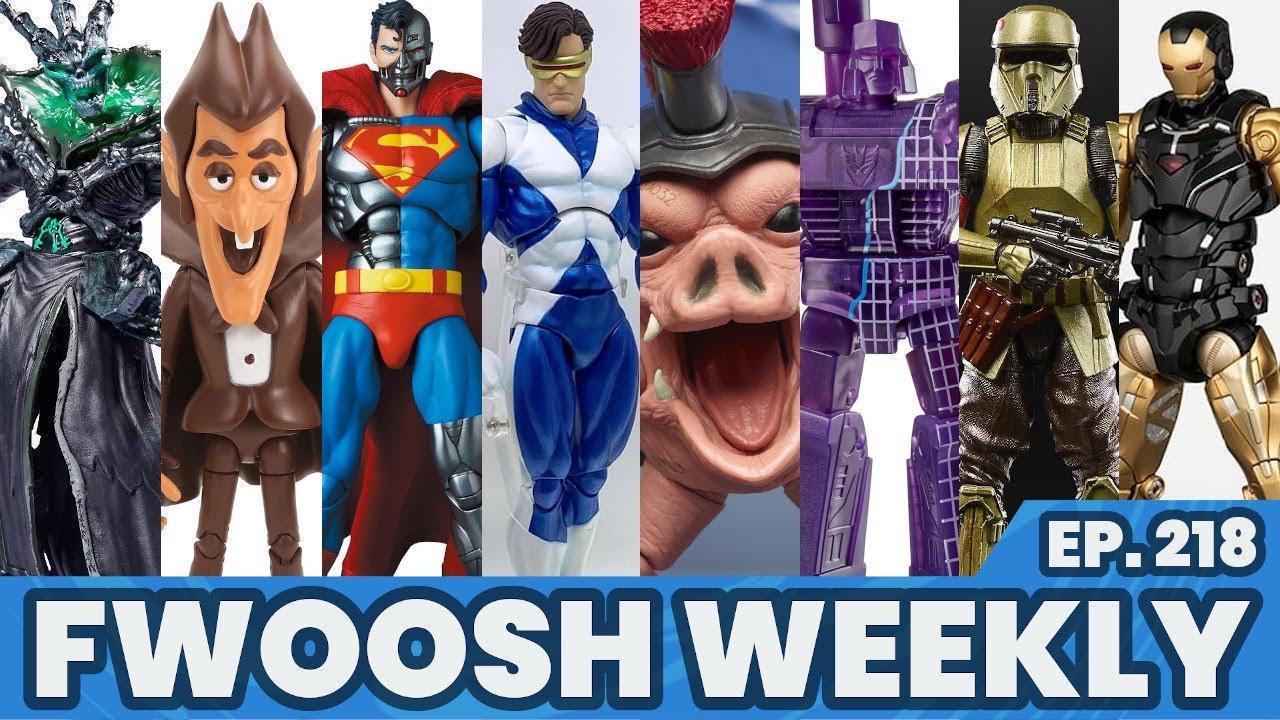 Weekly! Ep218: MAFEX, Marvel Legends, Star Wars, G.I.Joe, DC, TMNT, MOTU, Jurassic Park, Mezco more!