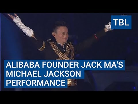 Watch billionaire CEO Jack Ma dance to Michael Jackson in full costume