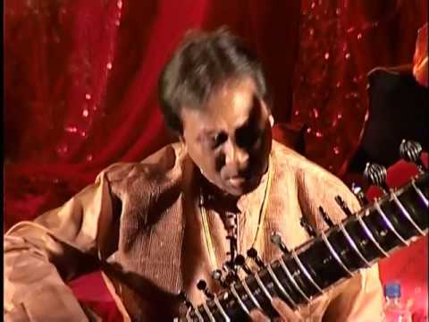 Shahid Parvez - sitar - Rag Bageshree - Alap, Jor and Jhala - (part 1/2)