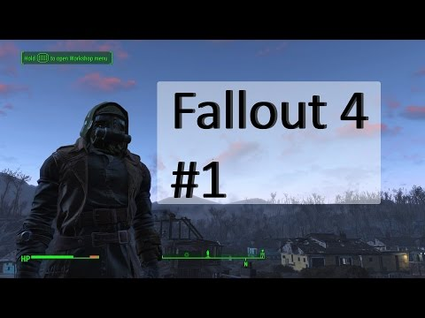 Fallout 4 Game Play #1 My Settlement!