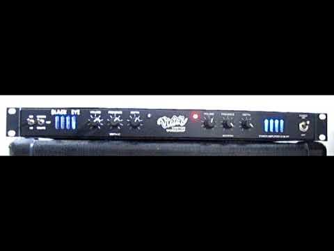 VICTOR CUSTOM BLACK EYE GUITAR POWER AMP DEMO