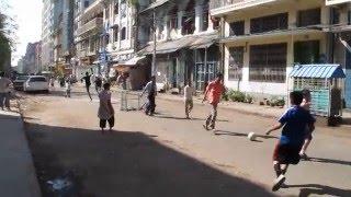 ミャンマー・ヤンゴンのインド人街をウロウロと歩く