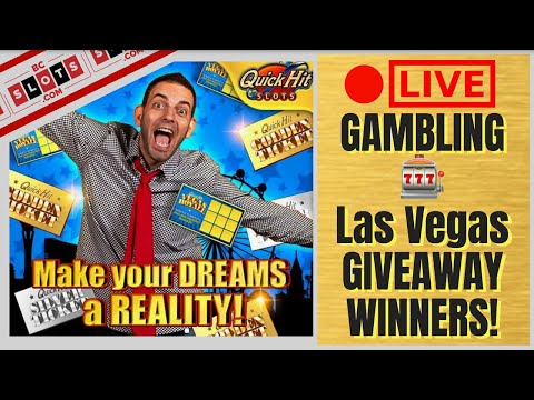 🔴 LIVE 🎰 $500 Gambling at the Casino 🎉 Quick Hit VEGAS ROYALE Giveaway 🏆 BCSlots #AD