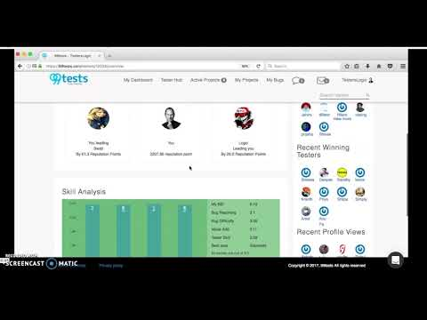 Crowd testing 102 - Become a Crowd Tester, freelance and earn money. First website to start.