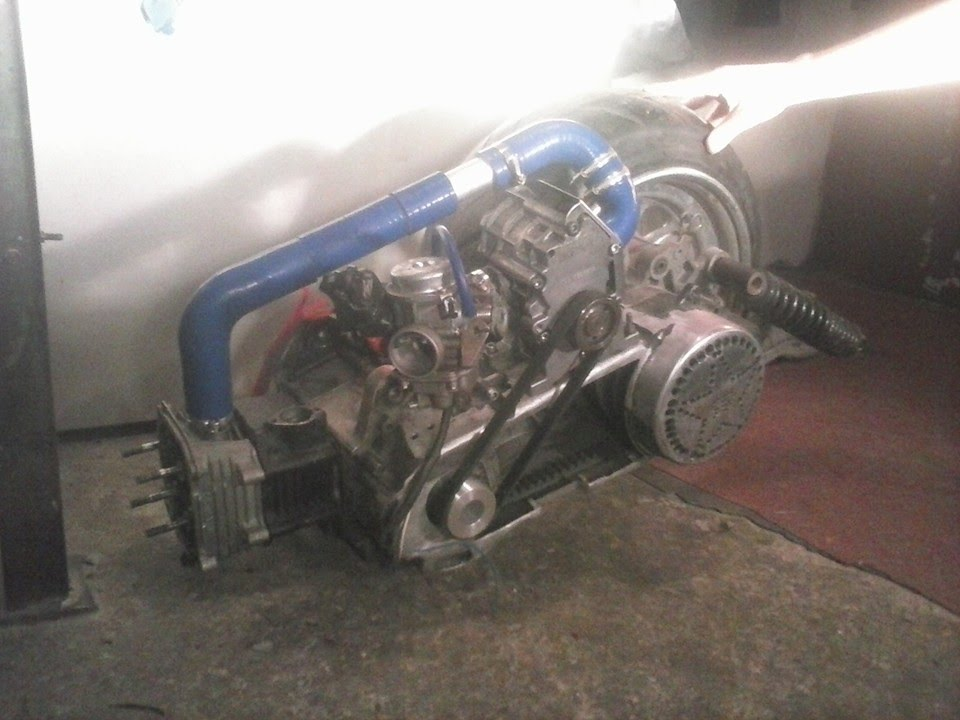 First Run Fatty LC GY6 150cc Supercharged