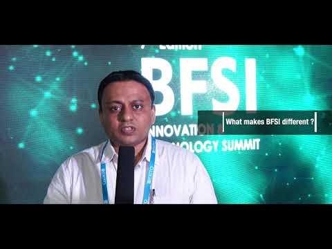 Thales E-Security Testimonial - 7th Edition BFSI IT Summit