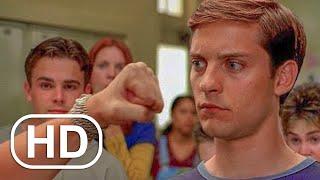 Peter Park vs Flash - Cena de Luta na Escola - Homem Aranha (2002) Clipe do Filme HD