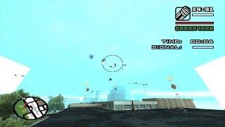 First-Person mod - GTA San Andreas - Air Raid - Zero mission 1